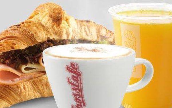 Francouzská snídaně v CrossCafe Strossmayerovo náměstí
