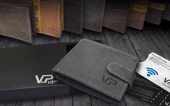 Kožené peněženky OLIVER a obal na karty