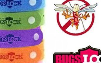 Repelentní náramek Bugs Lock s poštovným zdarma, hmyz se Vám vyhne až na 240 hodin.