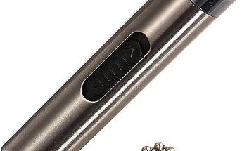 LED svítilna s laserem - klíčenka