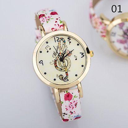 Dámské hodinky v různých jemných motivech