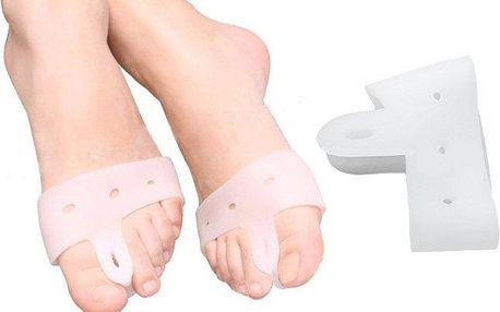 Silikonová vložka na nohu mezi palec a ukazovák