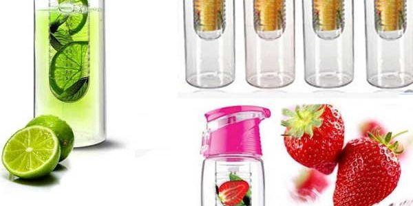 Kreativní lahev na pití či ovoce