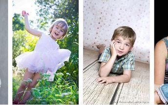 Až 200 fotek + 3 fotky retušované včetně černobílé varianty. ATELIÉROVÉ NEBO VENKOVNÍ FOCENÍ až pro 5 osob. Focení rodin, dětí, těhotných, zamilovaných párů, portrétů (profesních, klasických), aktů, nebo dle dohody.