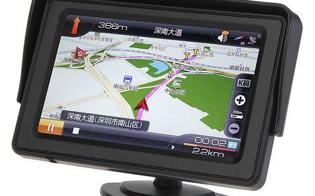 4,3 LCD monitor do auta