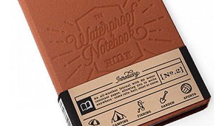 Kožený zápisník Waterproof Notebook V2 - VÝPRODEJ