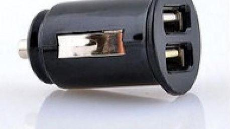 Nabíječka do auta USB se 2 výstupy