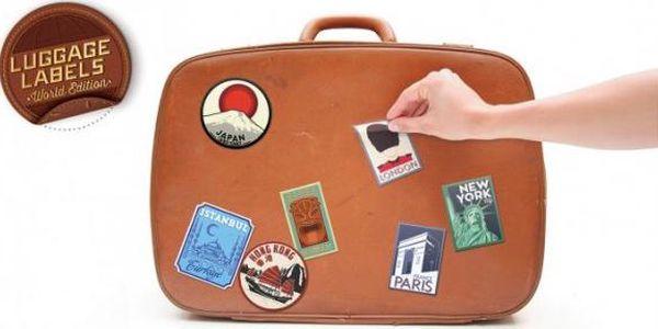 Samolepky na zavazadla World