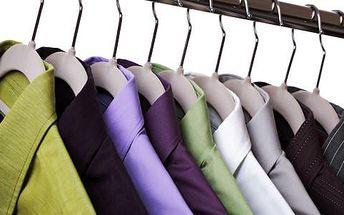 50% sleva na čištění oděvů, včetně chemického