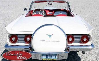 Jízda snů v americkém veteránovi Ford Thunderbird