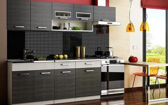 Kuchyňská linka MORENO 240 black