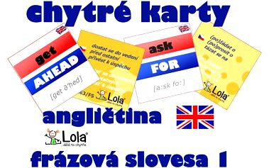Chytré karty - anglická slovesa se zvládne naučit úplně každý!