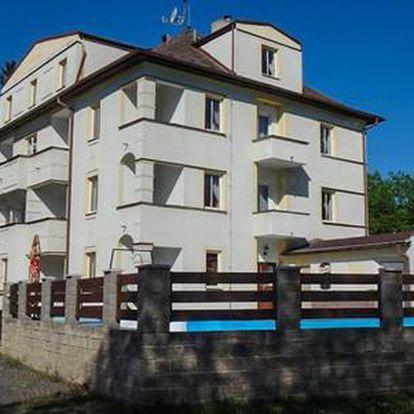 Hotel Bellevue*** v Doksech u Máchova jezera s polopenzí a vířivkou pro 2 osoby s platností od konce srpna