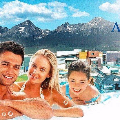 Podzimní vodní dovádění v AquaCity Poprad