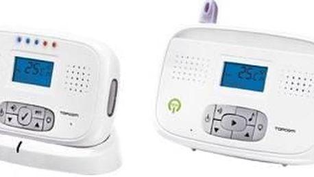 Dětská elektronická chůva Topcom Babytalker 3600 NEMo (5411519016478) bílá