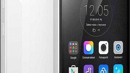 Lenovo Vibe Shot, LTE, bílá + ochranný kryt + folie displeje zdarma - PA1K0063CZ + Zdarma SIM karta Relax Mobil s kreditem 250 Kč