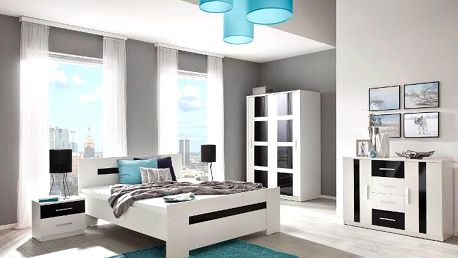 Moderní ložnice PRESTO Sestava 1