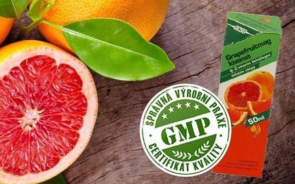 Extrakt z grapefruitových jadérek + C vitamin zničí všechny VIROVÉ ONEMOCNĚNÍ!