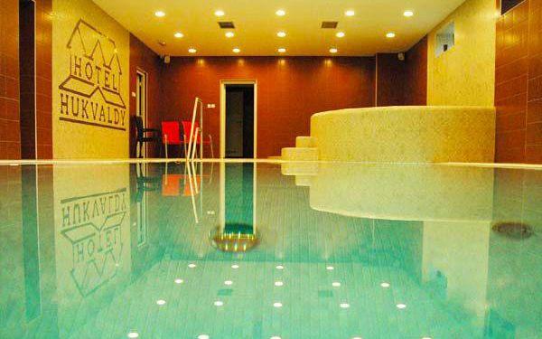3denní neomezené wellness v hotelu Hukvaldy