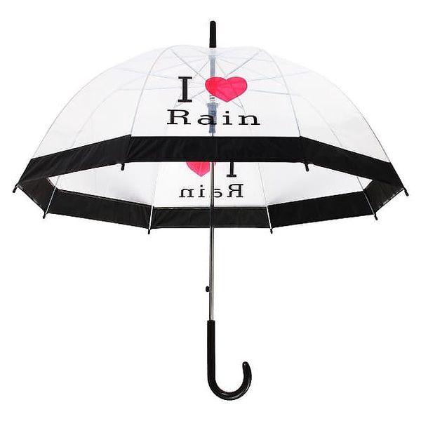 Elegantní průhledný deštník - 3 varianty - dodání do 2 dnů