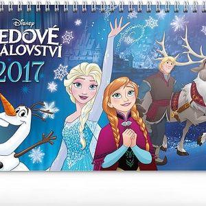 Stolní kalendář - Ledové království - 2017 - dodání do 2 dnů