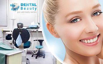Profesionální bělení zubů revoluční metodou z USA v zubní ordinaci u metra C Budějovická