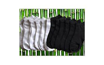 Maxi sada kotníčkových ponožek z bambusového vlákna. V létě vás budou chladit a v zimě hřát.