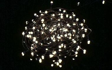 Vánoční LED osvětlení Garth 18 m - teple bílé, 200 diod