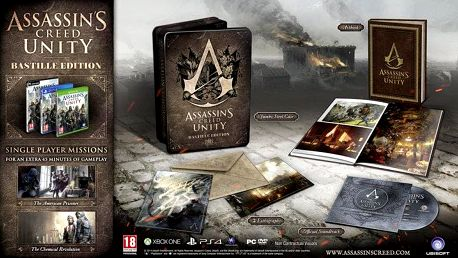 Assassin's Creed: Unity - The Bastille Edition - PC - PC - USPC000782