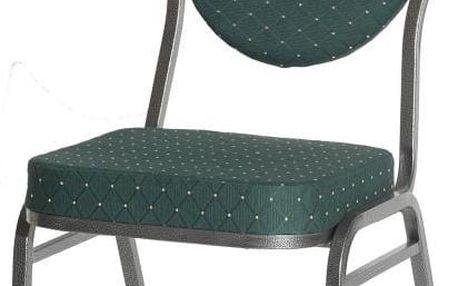 A.B.C. Worldwide 1485 Kvalitní kovová židle MONZA - zelená