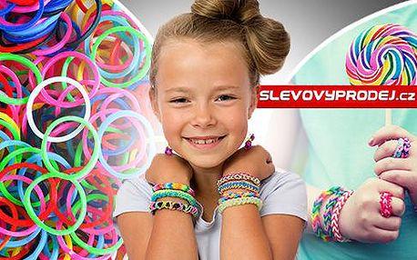 Náramkové gumičky Loom Twister: Sada 4200 ks pro malé i velké, různé barvy, poštovné v ceně