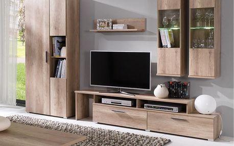 Moderní obývací stěna Pierre