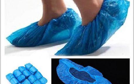 Plastové návleky na boty 100ks - dodání do 2 dnů