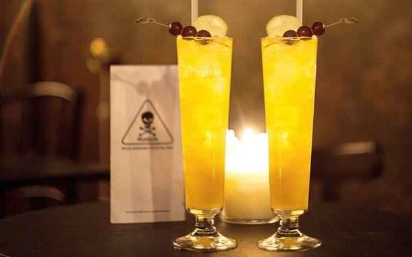 Nebezpečně dobré drinky v legendárním baru