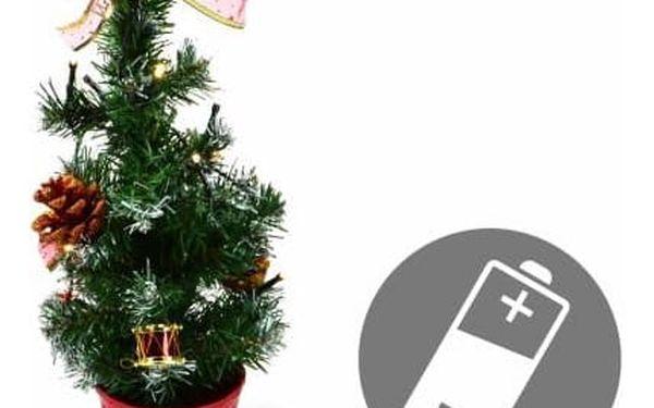 Nexos 33495 Vánoční stromek s osvětlením 40cm