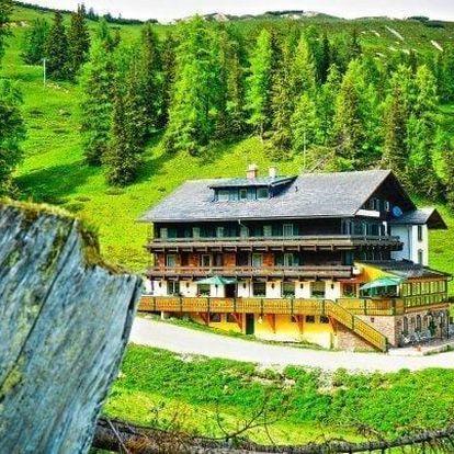 Romantické Alpy se snídaní nebo polopenzí pro DVA až na 7 dní