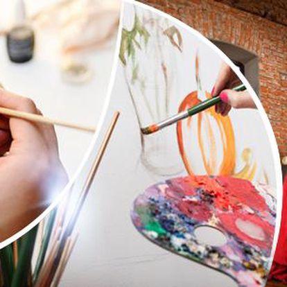 Taneční nebo výtvarný kurz dle výběru: keramika, výtvarná technika, 4 druhy tance, Praha 3