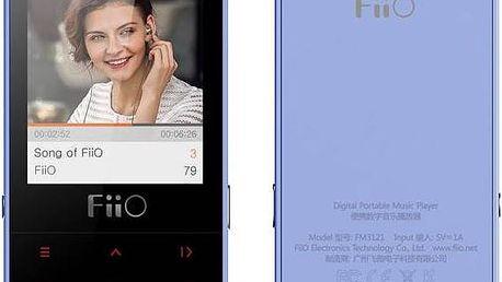 Digitální přehrávač FiiO M3 modrý