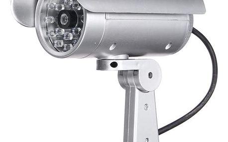 Falešná bezpečnostní kamera s LED světlem