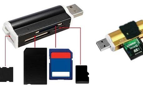 USB univerzální čtečka na paměťové karty