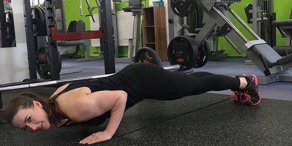 Osobní trénink s trenérkou v MTV Fitness