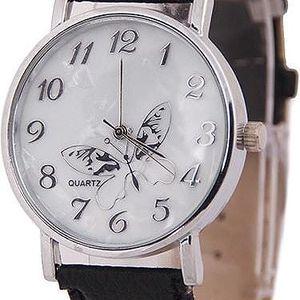 Elegantní hodinky s motýlkem