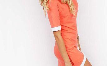 Asymetrické letní šaty
