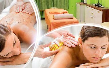 50min. francouzská masáž s parafínovým zábalem nebo 60min. čínská energetická masáž!