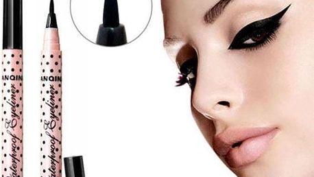 Voděodolná tužka na oční linky - černá barva - poštovné zdarma