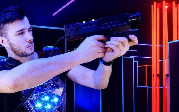 Laser game: Napínavá hra pro celou partu
