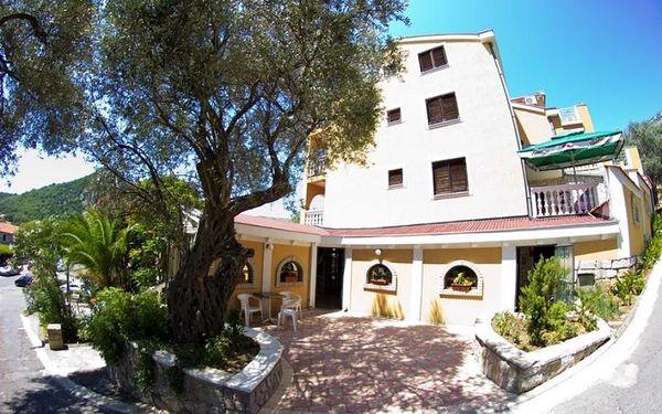 Černá Hora, Budvanská riviéra, letecky na 8 dní s plnou penzí