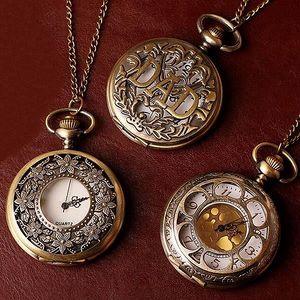 Vintage kapesní hodinky - motiv 05 - skladovka - poštovné zdarma