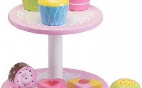 Dětský stojánek s dortíky