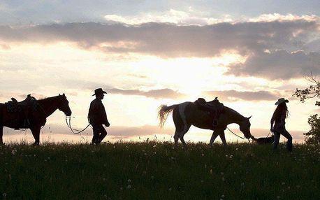 Podzim na koňském ranči v Beskydech s programem